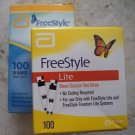 100 FreeStyle Lite Diabetic Test Strips + 100 FreeStyle Lancets FREE Abbott
