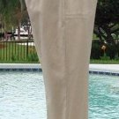 Cache $98 LACE-UP BOTTOM AREA SATIN-SHEEN CAPRI Pant NWT 0/2/4/6/8/10 XS/S/M