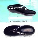 Donald Pliner $255 COUTURE CRYSTALS LEATHER Shoe NIB 5 6.5 VELVET FOOTBED