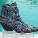 Donald Pliner $525 WESTERN COUTURE PYTHON PATENT LEATHER BOOT Shoe NIB 6