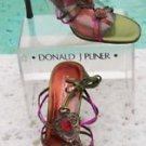 Donald Pliner $265 COUTURE METALLIC LEATHER Shoe Sandal NIB GEM STONE 6 9 9.5