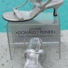 Donald Pliner COUTURE $275 METALLIC LEATHER Shoe NIB PRACTICAL SANDAL COMFORT