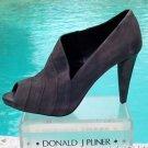 Donald Pliner COUTURE $395 SUEDE LEATHER Boot Shoe Pump NIB ASYMMETRICAL DESIGN
