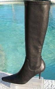 Donald Pliner $425 GRAIN NAPPA STRETCH ENERGIZING MASSAGE Boot Shoe NIB 6.5