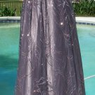 Cache $218 RUCHED BUILT-In BRA EVENT DRESS NWT 4/6/8 SEQUIN METALLIC EMBELLISHED