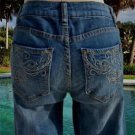 Cache $98 DENIM EMBELLISHED POCKETS Jean Pant NWT STRETCH 0/2/6/8/10/12 XS/S/M/L