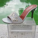 Donald Pliner $235 COUTURE ICE BABY CALF LEATHER Shoe NIB METAL STUD 6 11
