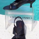 Donald Pliner COUTURE $250 METALLIC LEATHER Shoe NIB PRACTICAL SANDAL COMFORT 6