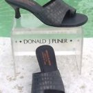 Donald Pliner COUTURE $285 METALLIC KOGI GATOR LEATHER Shoe NIB 6 TOE RING