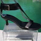 Donald Pliner COUTURE $325 SHINE LEATHER Shoe NIB WIDE ANKLE STRAP THONG 7 8 11