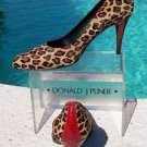 Donald Pliner $350 COUTURE SIGNATURE CONGO HAIR CALF GATOR LEATHER Shoe NIB PUMP