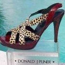 Donald Pliner $325 COUTURE TOMATO GATOR HAIR CALF LEATHER Shoe NIB SLINGBACK