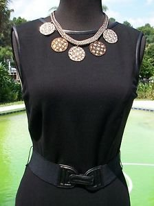 Cache $168 LBD DAY EVENT DRESS NWT LINED STRETCH 0/2/4 XS/S REMOVABLE SELF-BELT
