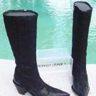 Donald Pliner $625 WESTERN COUTURE GATOR LEATHER EMBROIDERY BOOT Shoe NIB 6