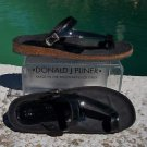 Donald Pliner COUTURE $200 PATENT LEATHER Shoe NIB FLEX CORK GEL SOLE 6.5