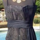 Cache $178 LUXE SEQUIN EVENT CRUSE Top NWT 6/8/10/12 M/L LINED SELF-BELT
