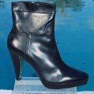 """Donald Pliner $535 COUTURE LEATHER Boot Shoe NIB 3/4"""" PLATFORM PEACE ZIP 10 11"""