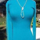 Cache $118 MOC TURTLE NECK METAL STUDS DOWN SLEEVE Top NWT XS/S/M STRETCH