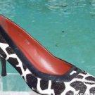 Donald Pliner $350 COUTURE LEATHER GIRAFFE HAIR CALF Pump Shoe NIB 5.5 SIGNATURE