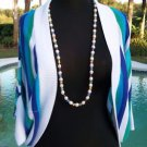 Cache $108 COLOR BLOCK JACKET Top SHRUG NWT XS/S STRETCH WEAR ALL YEAR