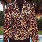 Cache $208 SILK CONGO ANIMAL LINED Jacket Top NWT 0/2/4/6/8/10 WEAR ALL YEAR