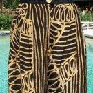 Platinum $$$ Cache TRIBAL Short PANT EUC S 2/4/6 Dorothy Schoelen ELASTIC WAIST