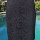 Cache $108 STRETCH LACE Skirt NWT 8/10/12 BODY SHAPING LINING SCALLOP BOTTOM