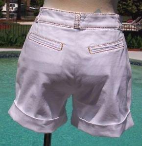 Cache CONTOUR $98 STRETCH DENIM Short Pant NWT DETAIL STITCHING PATENT PENDING