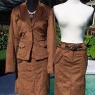 Cache $178 THIN CORD LINED SUIT Jacket Top NWT 0/2/4/6/8/10/12 WEAR ALL YEAR