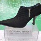 Donald Pliner $295  SUEDE LEATHER Boot Shoe Pump NIB  4.5 5 BOOTIE ELASTIC NEW