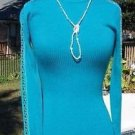 Cache $118 MOC TURTLE NECK METAL STUDS DOWN SLEEVE Top NWT XS/S STRETCH