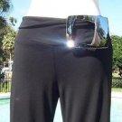 Cache $138 WIDE LEG SELF-BELT SILVER BUCKLE Pant NWT STRETCH FUN & FLIRTY 2/4 S