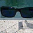REVO Guide RE4039-02 Polarized Sunglasses Polished Black frame/ Blue Lens NIB