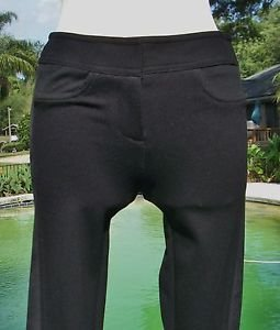 Cache $108 STRETCH LEGGING Pant  NWT 0/2 XS/S UPSCALE POLISHED SUEDE SIDE PANEL