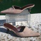 Donald Pliner $215 COUTURE STRETCH MESH ELASTIC LEATHER Shoe EUC MULE 7.5