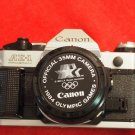 Canon AE-1 Program 35mm SLR Film Camera with 50 mm lens Kit + Kiron 80-200mm LOT