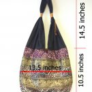 Limited Thai Handmade Elephant Shoulder Bag Vintage Hippie Hobo Sling Crossbody