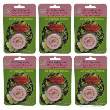 6x3g Lipstick Natural Herbal Change Labia Colour Lip Balm Consumer Product