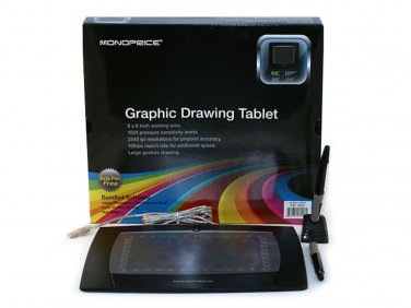 8X6 Inches Graphic Drawing Tablet