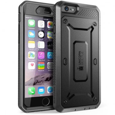 """SUPCASE iPhone 6 Plus Case 5.5"""". Full Body Rugged Heavy Duty Belt Clip Holster"""