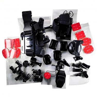 Go Pro Hero Camera Accessory Kit Ultimate Combo 33 Accessories Action Mounts