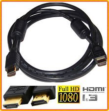 ULTRA GOLD HDMI 6 foot Video Cable Playstation 2 3 ps3 ps2 xbox 360 6ft feet