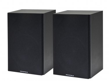 6 1/2 Inches 2-Way Bookshelf Speakers (Pair) - Black