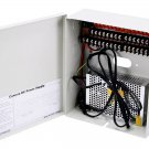 16 Channel CCTV Camera Power Supply - 12VDC - 10Amps