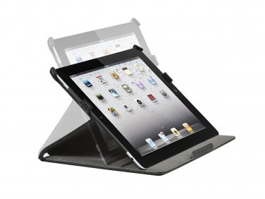 Duo Case and Stand for iPad 2, iPad 3, iPad 4 - Black