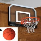 Triumph Indoor Mini Basketball Court Hoop Net Backboard Breakaway Rim Ball Pum