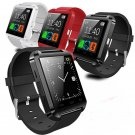 U8 Bluetooth Smart Wrist Watch Phone Mate For Android IOS Phones Hiking BLACK