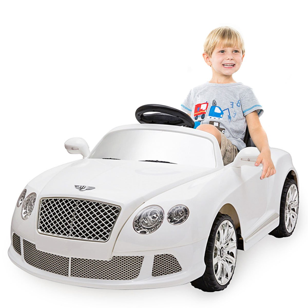 Bentley Gtc 12v Ride On Kids Battery Power Wheels Car Rc: 12V Bentley GTC Kids Ride On Car Electric RC Remote