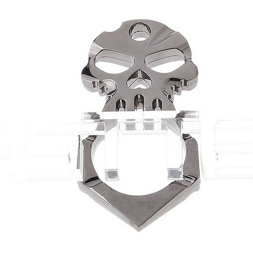 Skull Styled Self-defense Protection Safety Pendant w/ Lanyard