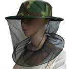 Unisex Outdoor Beekeeping / Fishing Cap / Hat camo green
